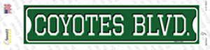 Coyotes Blvd Wholesale Novelty Narrow Sticker Decal