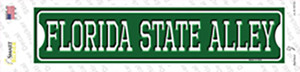 Florida State Alley Wholesale Novelty Narrow Sticker Decal