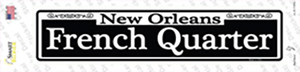 New Orleans French Quarter Wholesale Novelty Narrow Sticker Decal