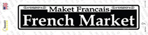 French Market Wholesale Novelty Narrow Sticker Decal