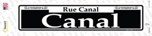 Canal Wholesale Novelty Narrow Sticker Decal
