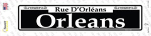Orleans Wholesale Novelty Narrow Sticker Decal