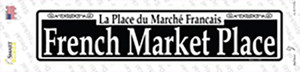 French Market Place Wholesale Novelty Narrow Sticker Decal