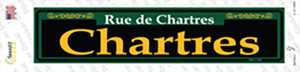 Chartres Green Wholesale Novelty Narrow Sticker Decal
