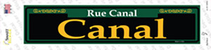 Canal Green Wholesale Novelty Narrow Sticker Decal