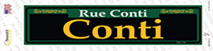 Conti Green Wholesale Novelty Narrow Sticker Decal