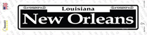 New Orleans Wholesale Novelty Narrow Sticker Decal