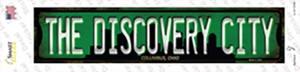 Columbus Ohio The Discovery City Wholesale Novelty Narrow Sticker Decal