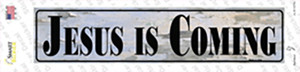 Jesus Is Coming Wholesale Novelty Narrow Sticker Decal