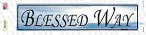 Blessed Way Wholesale Novelty Narrow Sticker Decal
