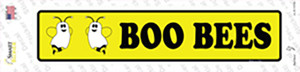 Boo Bees Wholesale Novelty Narrow Sticker Decal