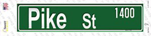 Pike St 1400 Wholesale Novelty Narrow Sticker Decal