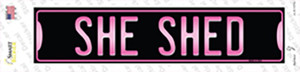 She Shed Wholesale Novelty Narrow Sticker Decal