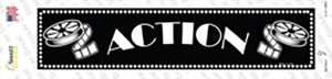 Action Home Theater Wholesale Novelty Narrow Sticker Decal