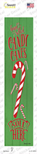 Candy CaSold Here Green Wholesale Novelty Narrow Sticker Decal