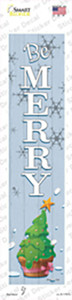 Be Merry Wholesale Novelty Narrow Sticker Decal