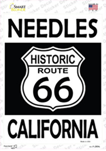 Needles California Historic Route 66 Wholesale Novelty Rectangle Sticker Decal