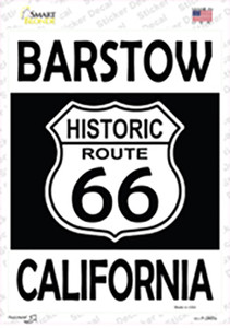 Barstow California Historic Route 66 Wholesale Novelty Rectangle Sticker Decal