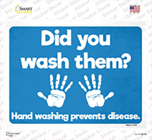 Did You Wash Them Wholesale Novelty Rectangle Sticker Decal