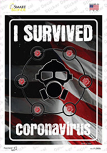 I Survived Wholesale Novelty Rectangle Sticker Decal