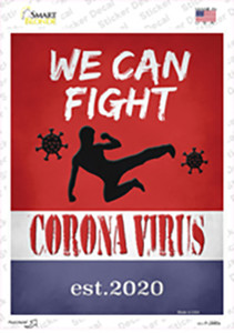 We Can Fight Wholesale Novelty Rectangle Sticker Decal