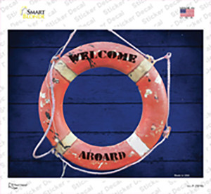 Welcome Aboard Wholesale Novelty Rectangle Sticker Decal