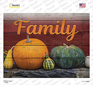 Family Wholesale Novelty Rectangle Sticker Decal