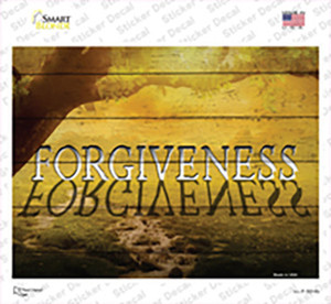 Forgiveness Wholesale Novelty Rectangle Sticker Decal