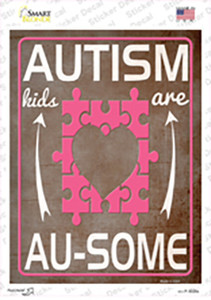 Autism Kids Are AU Some Wholesale Novelty Rectangle Sticker Decal