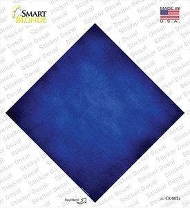 Blue Oil Rubbed Wholesale Novelty Diamond Sticker Decal