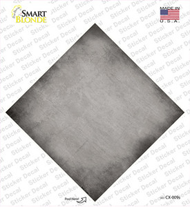 Gray Oil Rubbed Wholesale Novelty Diamond Sticker Decal