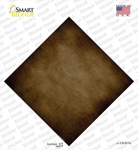 Brown Oil Rubbed Wholesale Novelty Diamond Sticker Decal