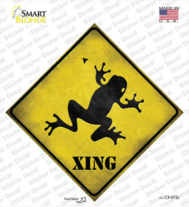 Frog Xing Wholesale Novelty Diamond Sticker Decal