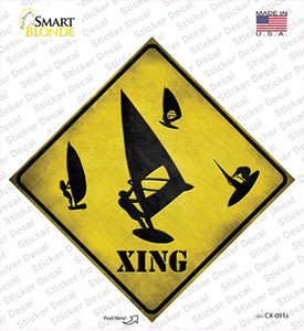 Board Sailor Xing Wholesale Novelty Diamond Sticker Decal