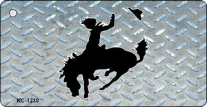 Bucking Bronco Diamond Wholesale Novelty Key Chain