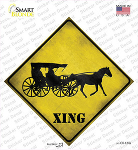 Carriage Xing Wholesale Novelty Diamond Sticker Decal