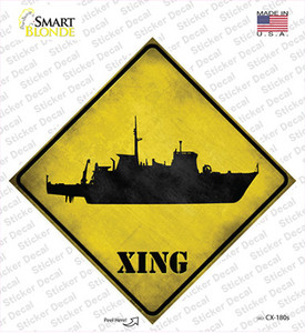 Destroyer Xing Wholesale Novelty Diamond Sticker Decal