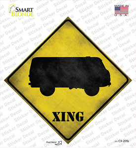 Bus Xing Wholesale Novelty Diamond Sticker Decal