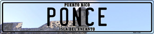 Ponce Puerto Rico Wholesale Novelty Metal European License Plate