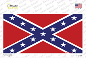 Confederate Flag Wholesale Novelty Sticker Decal
