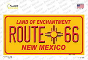 Route 66 Yellow New Mexico Wholesale Novelty Sticker Decal