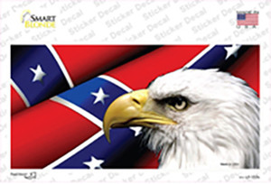 Confederate Flag Eagle Wholesale Novelty Sticker Decal