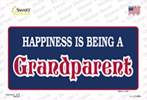 Happiness Being Grandparent Wholesale Novelty Sticker Decal