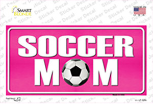 Soccer Mom Wholesale Novelty Sticker Decal