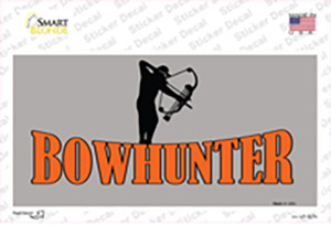 Bow Hunter Wholesale Novelty Sticker Decal