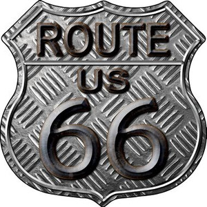 Route 66 Stamped Wholesale Metal Novelty Highway Shield