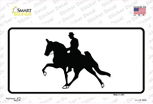 Horse With Rider Wholesale Novelty Sticker Decal