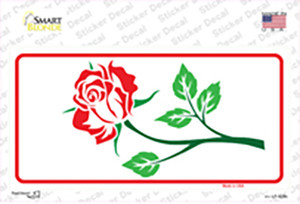 Rose White Wholesale Novelty Sticker Decal