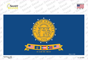 Georgia State Seal Wholesale Novelty Sticker Decal