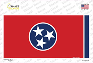 Tennessee State Flag Wholesale Novelty Sticker Decal